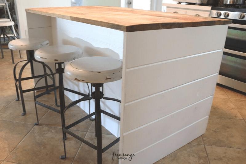 Ikea Diy Kitchen Island With Thrifted, Diy Kitchen Island Using Ikea Cabinets